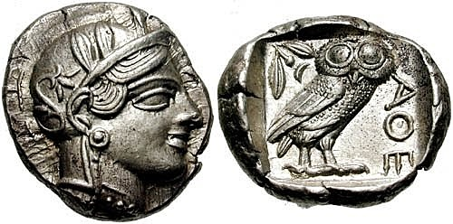 Surge la moneda. Grecia acuña moneda con aleaciones de oro y plata.