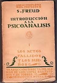"""(Psi) Se publica """"Introduccion al psicoanalisis"""""""