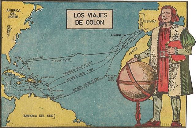 Descubrimiento de América trae nuevas rutas comerciales con España y Portugal