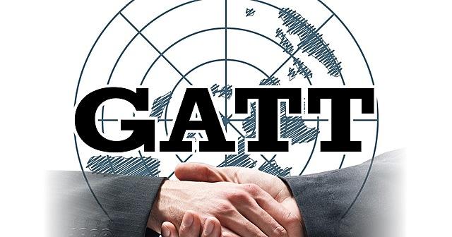 Creación GATT. Se eliminan aranceles.