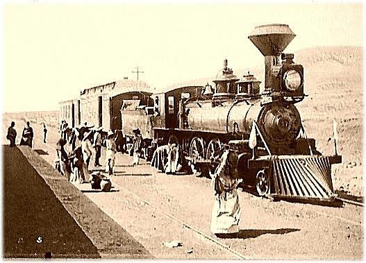 Ferrocarril y los barcos permiten traslado de mercancías creando MERCADO MUNDIAL