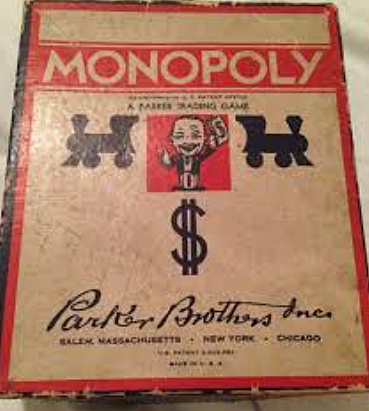 Monopoly being born