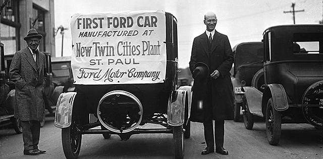Ford Motor Company is Founded