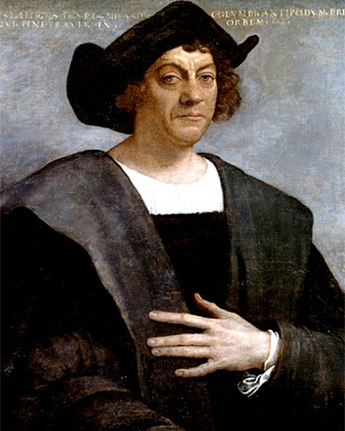 """Christopher Columbus """"Founds"""" New World"""
