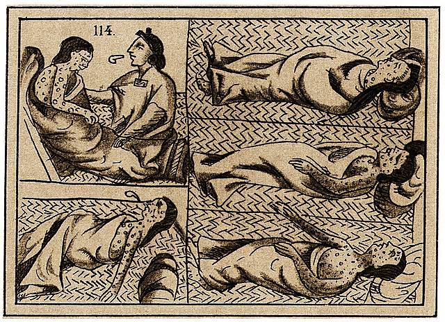 Small Pox Begins Spreading to Native Americans