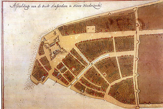 Dutch New Amsterdam Becomes Capital of New Netherland