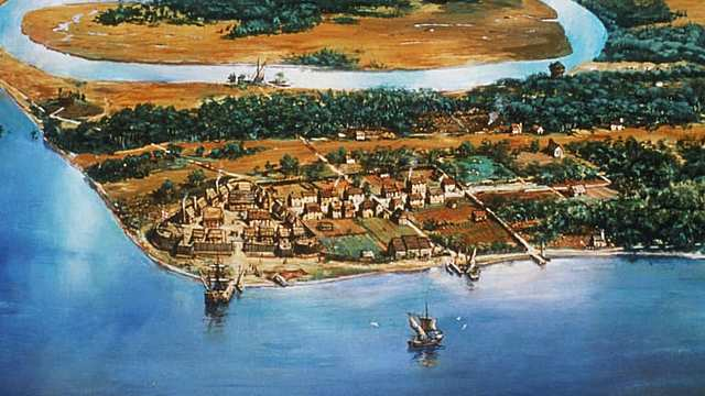 Jamestown, Virginia Colony Founded
