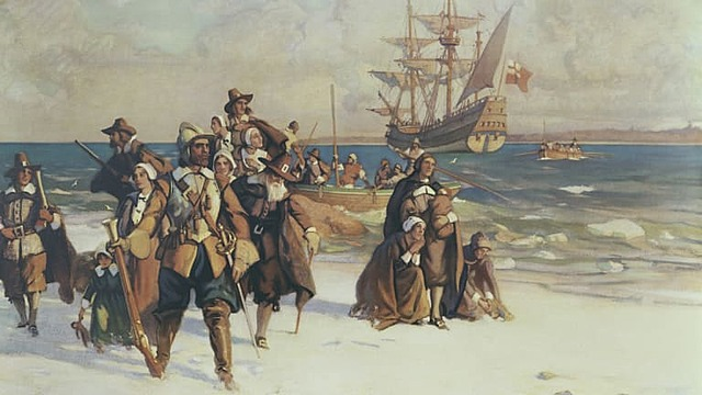 Plymouth, Massachusetts Colony Founded