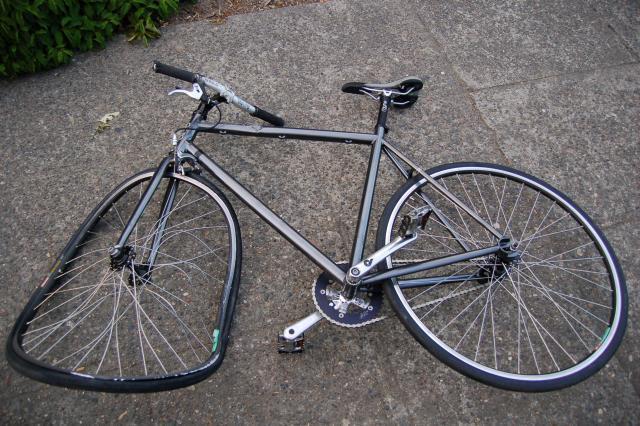 had a wreck on my bike