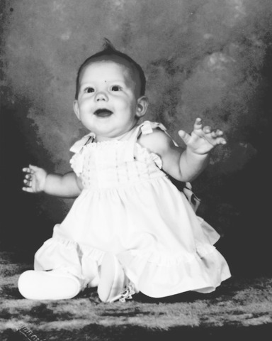 My first daughter was born