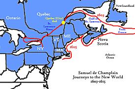 Samuel de Champlain: St. Lawrence