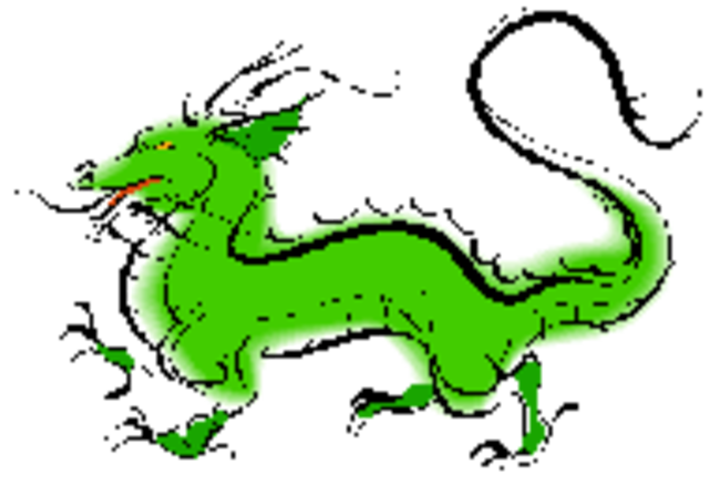 Drawing Dragons (exact date not accurate)