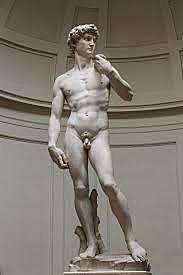 El David de Miguel Ángel (Michelangelo Bounarrotti)