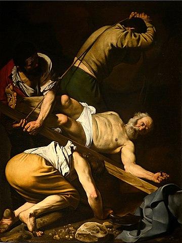 La crucifixión de San Pedro (Caravaggio)