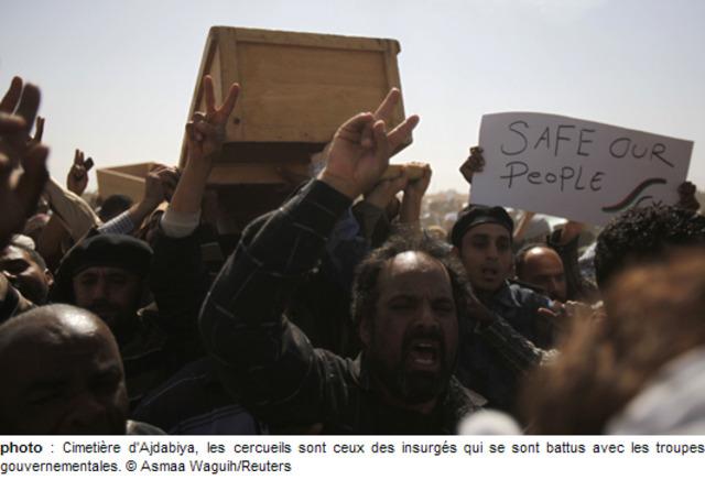 La contre-attaque de Kadhafi
