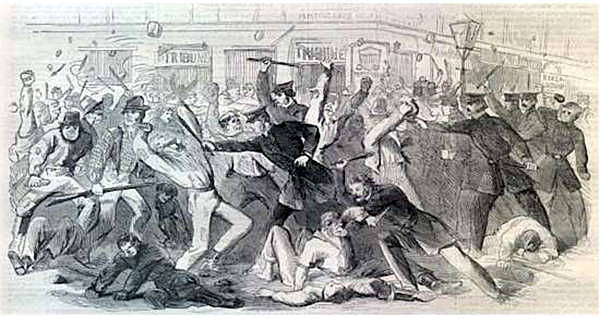 The Dead Rabbits Riot