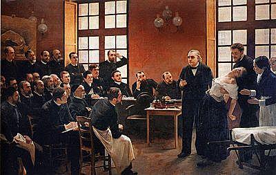 Sigmund Freud presenta la tesis de Charcot sobre histeria e hipnotismo