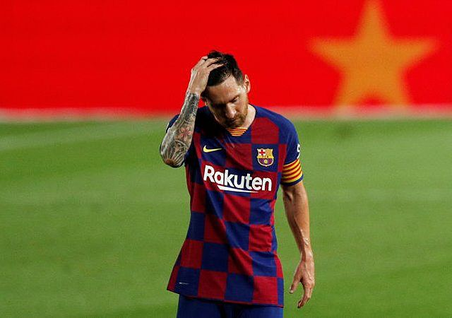 Lionel Messi appears in fourth place in the annual UEFA award.