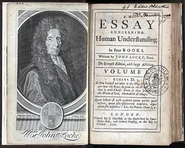 """John Locke: """"Ensayo sobre el entendimiento humano"""""""