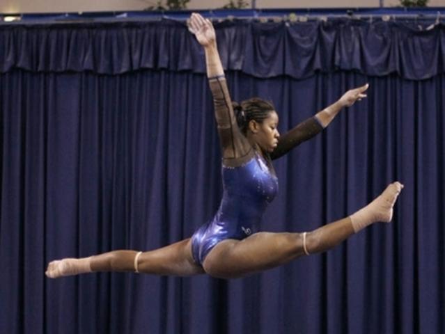 first ever gymnastics meet!