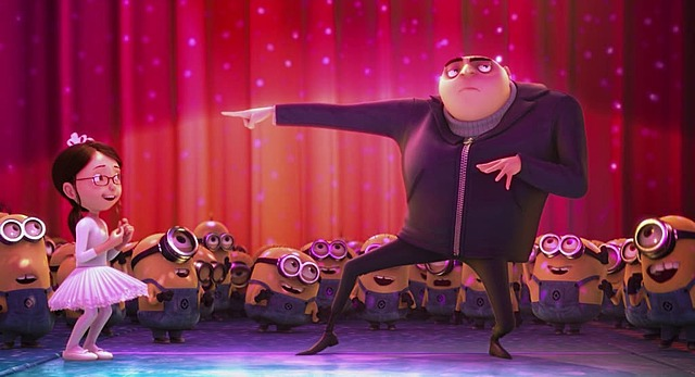 Gru saves the girls from Vector part 2