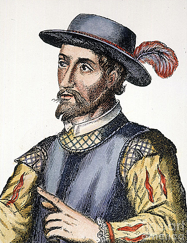 Juan Ponce de Leon: sponsored by Spain