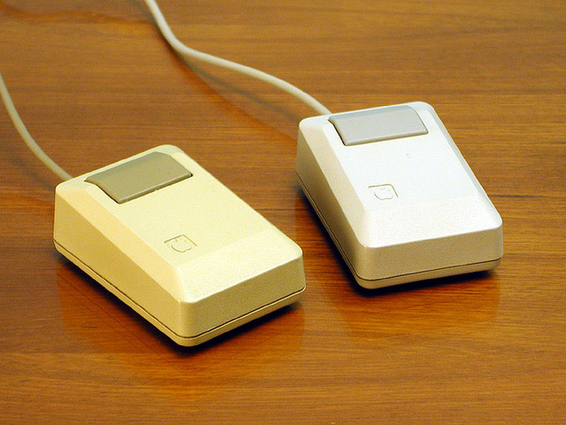 Debut of the Apple Lisa Mouse
