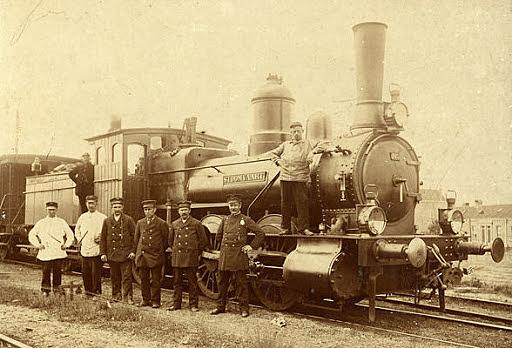 1e spoorlijn in Nederland
