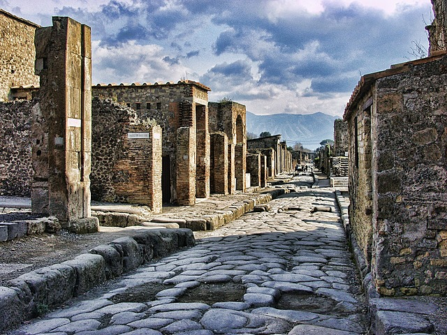 Opgraving Pompeii