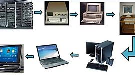 HISTORIA DE LAS COMPUTADORAS (GENERACIONES) timeline