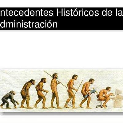 Antecedentes históricos de la administración, Yosmar Abisai Cetina Gómez, 5C. timeline