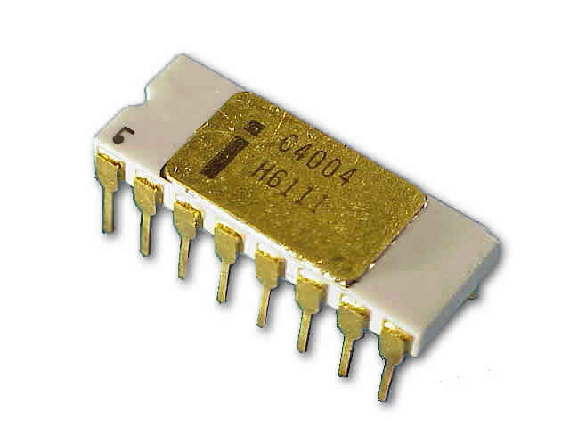 Intel 4004 Computer Microprocessor
