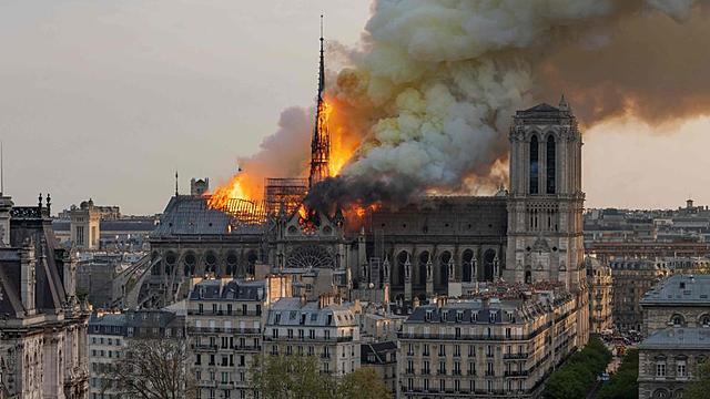 Incèndi de Notre Dame. (Cultural)