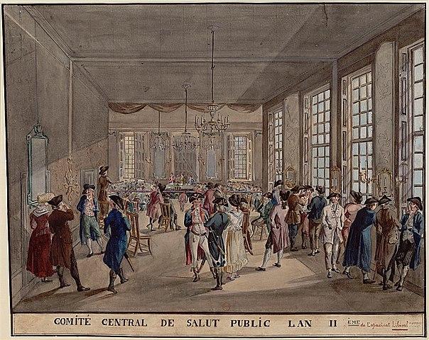 Comitato di salute pubblica e Robespierre