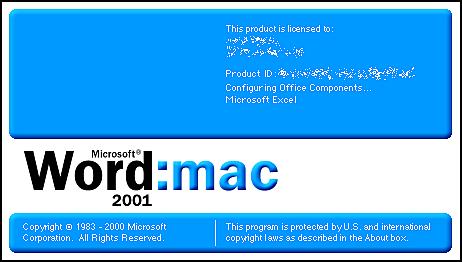 WORD: MAC 2000
