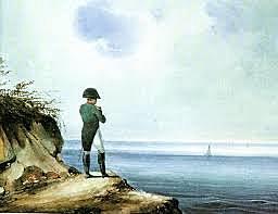 Napoleone confinato all'Isola d'Elba