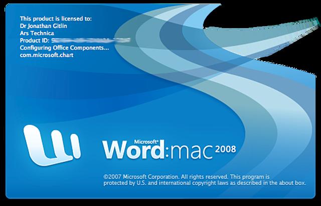 WORD: MAC 2008