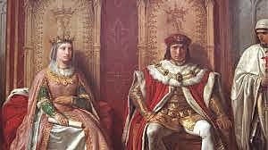 Los Reyes Catolicos se casan