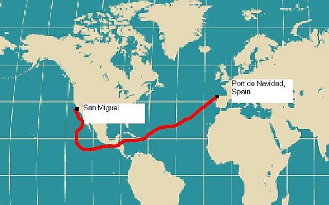 Juan Rodriquez Cabrillo Sailing for Portugal