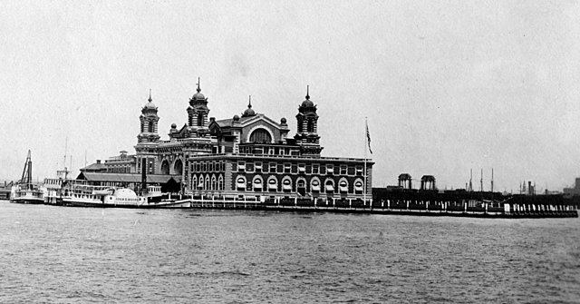 Ellis Island Opens to Process Immigrants