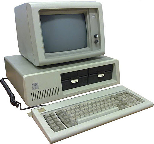 5 a generación (1984): comercialización de ordenadores personales.
