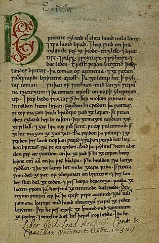 Anglo-Saxon Chroncle
