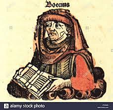 Anicius Manlius Severinus Boethius (480-524)