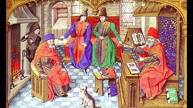 Nacimiento del mester de clerecía y algunos ejemplos