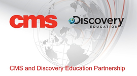 CMS and Discovery Education Partnership Overview timeline