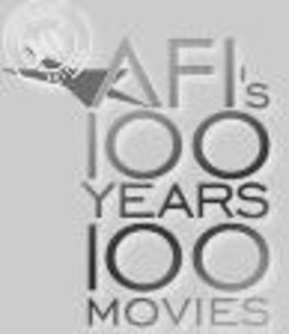 Ranked as one of 100 Best American Films