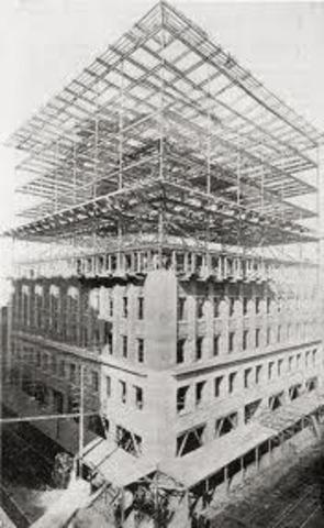 Louis Sullivan designed the ten story Wainwright Building in St.Louis