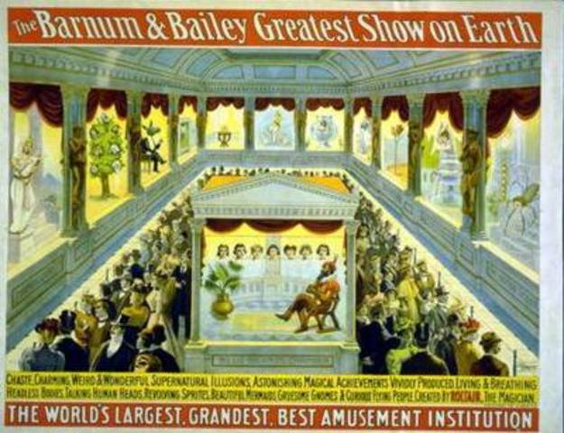 barnum and bailey circus opens in london