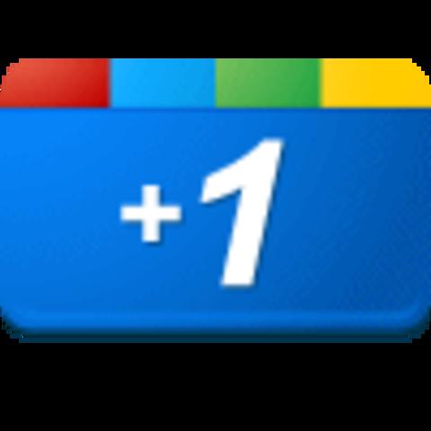 Google Plus One Button