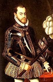 Felipe II se convirte rey de espana